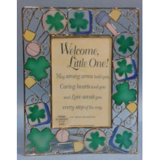 Frame, Irish Baby  Frame, Stain Glass
