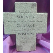 Cross, Serenity Prayer