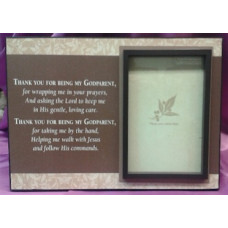 Frame, Thank You Godparent Picture Frame