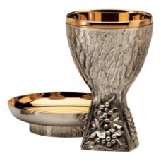 Chalice, & Bowl, Grape & Wheat Motifs