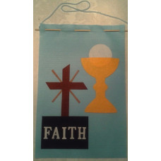 Ideas! Be creative with your First Communion Banner Kit