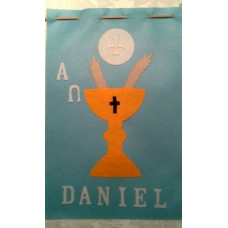 Idea! Using the Felt Letters with your First Communion Banner Kit