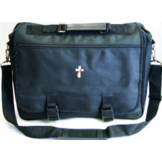 Briefcase with Deacon or Clergy Symbol