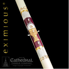 Paschal, Easter Candle, The 12 Apostles, 51% Bees Wax