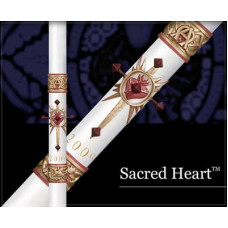 Paschal, Easter Candle, Sacred Heart