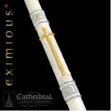 Paschal, Easter Candle, Way of the Cross, 51% Bees Wax