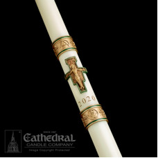 Paschal, Easter Candle, Cross of St. Francis