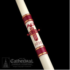 Paschal, Easter Candle, Crux Trinitas, Size 8SP