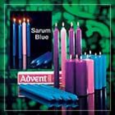 Advent Candle Set 3 Blue and 1 Rose