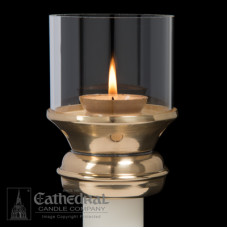 Candle Follower Draft Resistant 1 1/2 ""