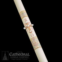 Paschal, Easter Candle, Investiture: Coronation of Christ