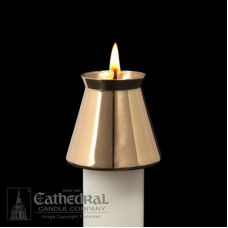 Candle Follower Brass  7/8""