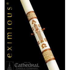 Paschal, Easter Candle, 51% Bees wax, Luke 24
