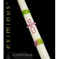 Paschal, Easter Candle, Remembrance, 51% Bees Wax