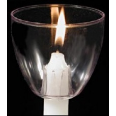 Plastic Shield Cup for candle