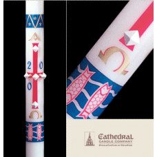 Paschal, Easter Candle, Benedictine