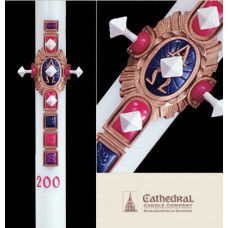 Paschal, Easter Candle, Christ Victorious, Size 4