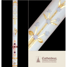 Paschal, Easter Candle, Ornamented