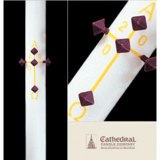 Paschal, Easter Candle, Plain