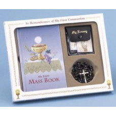 Communion Missal and Rosary Set, Eucharist Classic Boxed Set