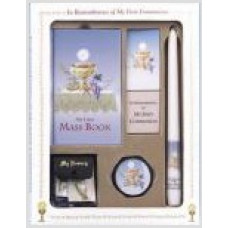 Communion Missal and Rosary Set, Eucharist Deluxe Boxed Set
