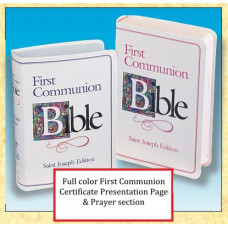 Bible, First Communion Bible St. Joseph Edition