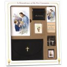 Communion Missal and Rosary Good Shepard Premier Boxed Set