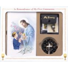Communion Missal and Rosary Set,Good Shepard Classic Boxed Set
