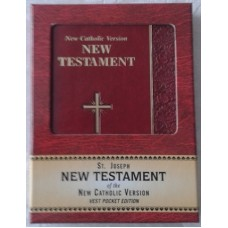 Bible, New Testament, St Joseph New Catholic Version, Pocket Edition