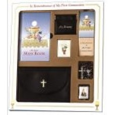 Communion Missal and Rosary Eucharist Premier Boxed Set