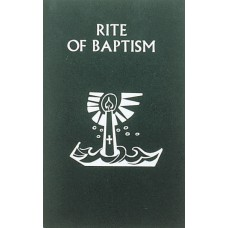 Book,  - Rite of Baptism Booklet