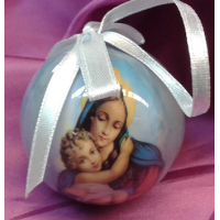 Ornament, Mary & Infant Jesus