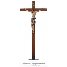 Crucifix with Pedestal
