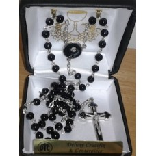 Communion Rosary gift boxed