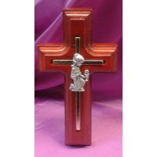 Cross, Pewter Girls First Holy Communion Cross