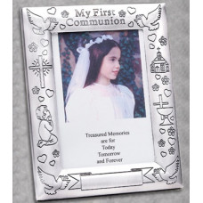 Frame, First Communion Engraved Frame