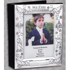 Frame, First Communion Engraved Album with Frame Cover, boy or girl