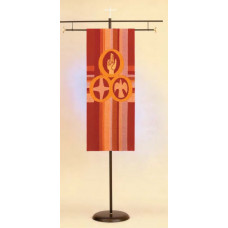 Processional Church Banner Stand 76BA11