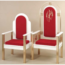 Chairs, Sanctuary Seating, Deacon Chair 2063