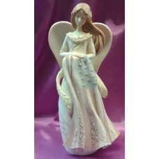 Statue, Military Angel with American Flag