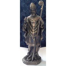 Statue, St. Patrick in Bronze