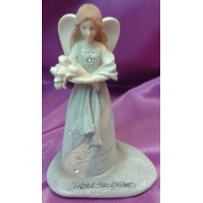 Statue, Small Angel, Grandfather, Grandmother or Mother, Father