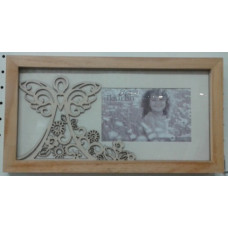 Frame, Wood Cutout Angel