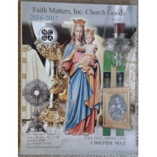 Catalogue, 2016-2017 Faith Matters, Inc. Church Supplies