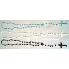 Rosary, Full Size Cord Rosary, set of 120