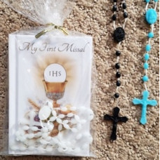First Communion Missal and Rosary Set, Volume pricing, 50 or more