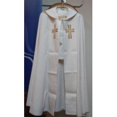 Vestment, Cope with Embroidered Cross