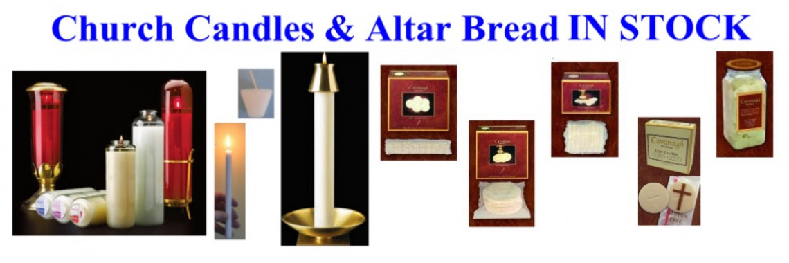 Alltarbread, Candles