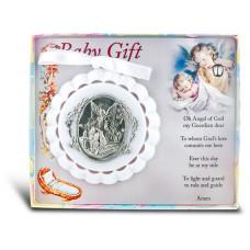 Baby, Gaurdian Angel Crib Medal