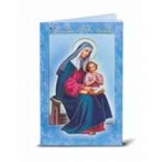 Book, Saint Anne Novena and Prayers